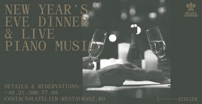 Celebrate New Year's Eve at L'Atelier Relais & Chateaux in Bucharest