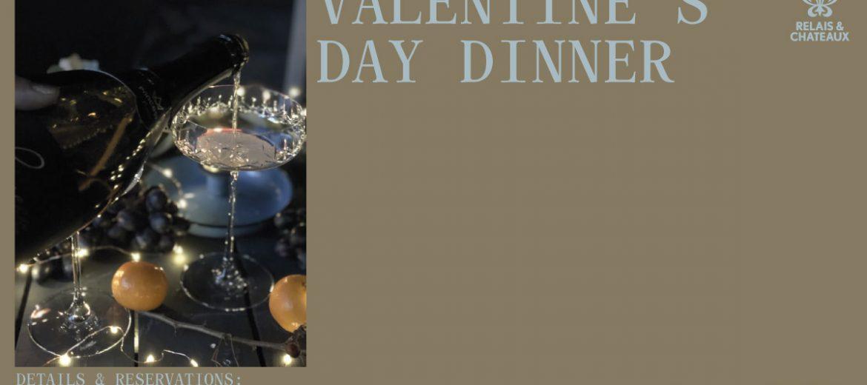 Valentine's Dinner @ L'Atelier Relais & Chateaux